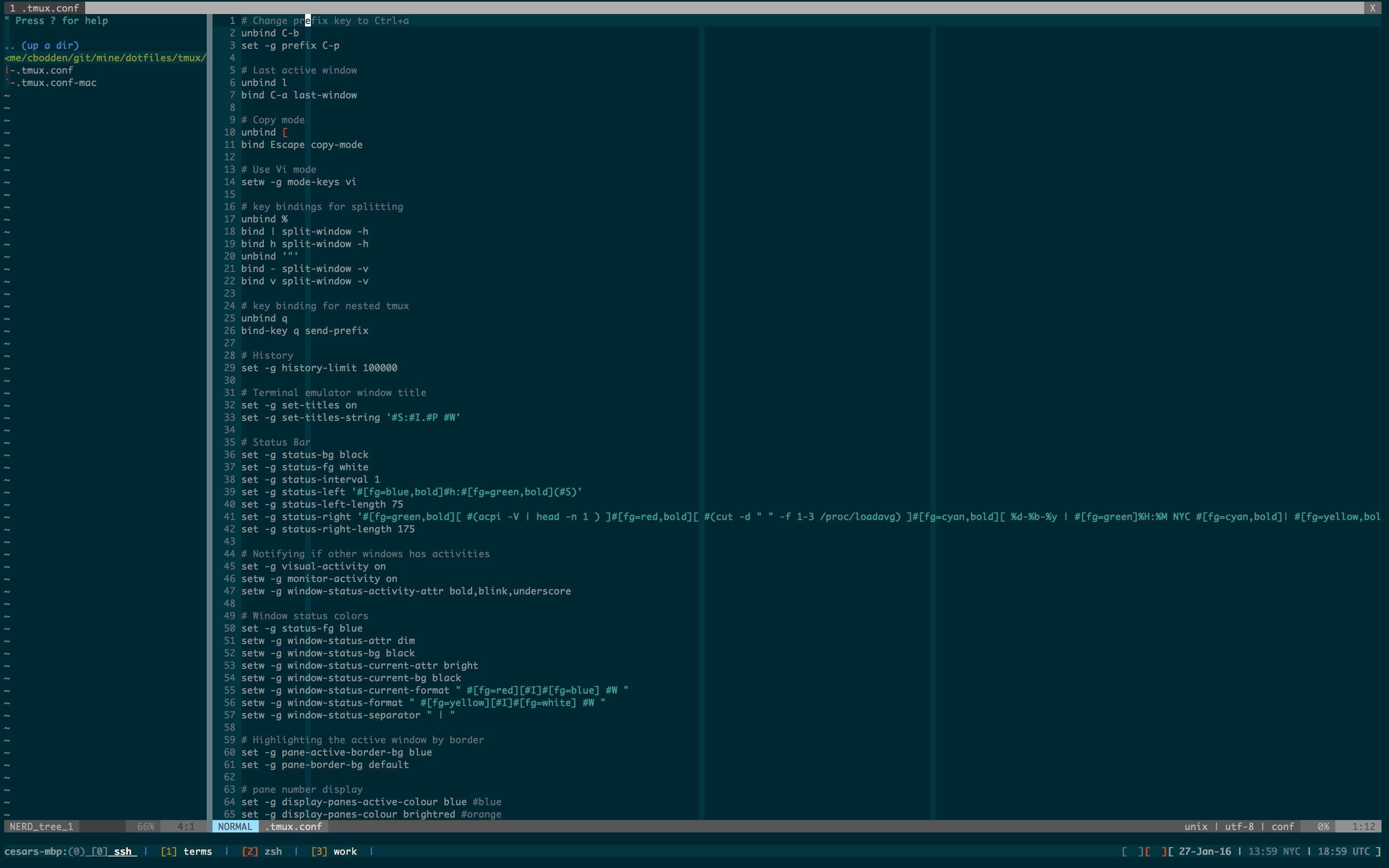 PissedOffAdmins » vim folding or: How I Learned to Stop Worrying and